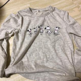 PEANUTS - Tシャツ 長袖 ロンT スヌーピー ピーナッツ 120cm