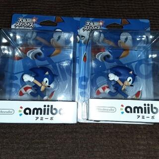 ウィーユー(Wii U)の新品未開封 amiibo ソニック 4個(大乱闘スマッシュブラザーズシリーズ)(その他)