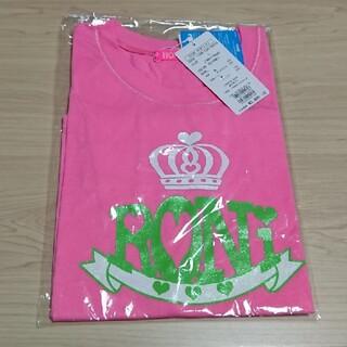 ロニィ(RONI)の新品 ロニィ Lサイズ Tシャツ ピンク 半袖 女の子 (Tシャツ/カットソー)
