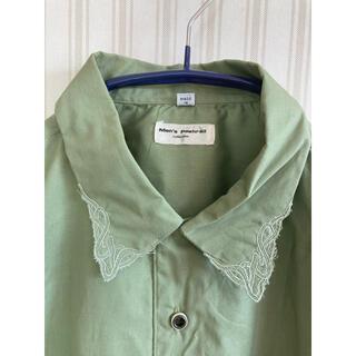 Lochie - 古着 ビンテージ オーバーサイズシャツ ヴィンテージ  ユーズド   刺繍