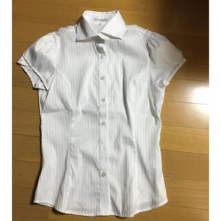 NARACAMICIE - ナラカミーチェ 白半袖シャツ
