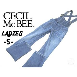 セシルマクビー(CECIL McBEE)のレディースS◇CECIL MC BEE◇ストレッチスキニーサロペット(サロペット/オーバーオール)
