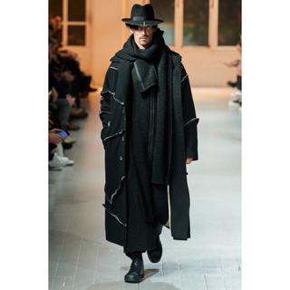 Yohji Yamamoto - つまみ縫い ヨウジヤマモト yohji homme ギャバ コート 20aw