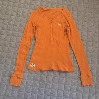 プーマ(PUMA)のPUMA プーマ 長袖リブTシャツ(Tシャツ(長袖/七分))