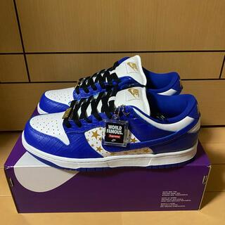シュプリーム(Supreme)のSupreme Nike SB Dunk Low BLUE ブルー 青 27㎝(スニーカー)