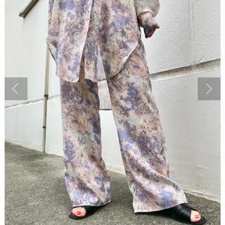 Kastane - kastane  Flower Print Shear pants