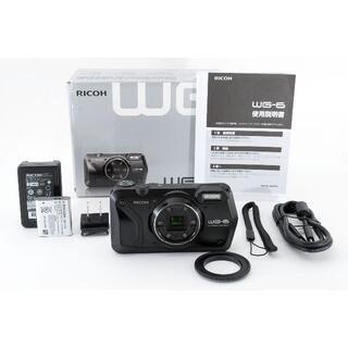 リコー(RICOH)のRICOH WG-6 ブラック 【本格防水デジタルカメラ・耐衝撃・防塵】(コンパクトデジタルカメラ)