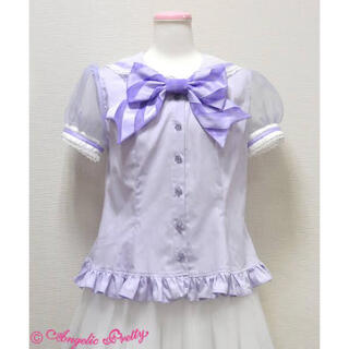 アンジェリックプリティー(Angelic Pretty)の♡シャーベットマリン ブラウス♡(シャツ/ブラウス(半袖/袖なし))