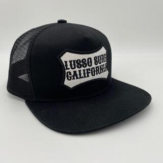 スタンダードカリフォルニア(STANDARD CALIFORNIA)のサーフブランド☆LUSSO SURF ボックスロゴ刺繍キャップ☆帽子 RVCA(キャップ)
