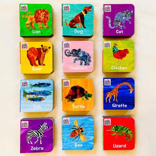 【新品】はらぺこあおむし 英語絵本12冊 知育玩具 英単語 エリックカール 洋書