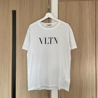 VALENTINO - ヴァレンティノ VALENTINO Tシャツ  白  Lサイズ