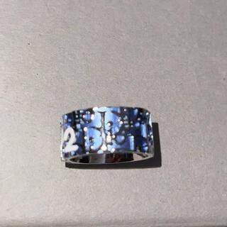 クリスチャンディオール(Christian Dior)のDior トロッター柄 リング(リング(指輪))