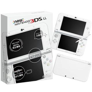 任天堂 - 【即購入可】Newニンテンドー3DS LL パールホワイト