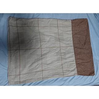 ニトリ(ニトリ)のニトリ 枕カバー まくらカバー ブラウン 綿100 コットン グレー(シーツ/カバー)