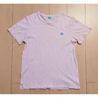 ヴィヴィアンウエストウッド(Vivienne Westwood)のVivienne Westwood  半袖Tシャツ ピンク M ヴィヴィアン(Tシャツ/カットソー(半袖/袖なし))