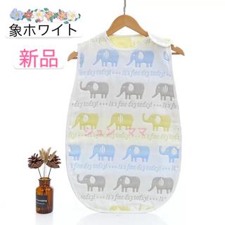 スリーパー 6重ガーゼ ベビーパジャマ☆週末セール
