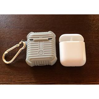 アップル(Apple)の美品 アップル AirPod A1602 充電ケース第1世代.第2世代用(ヘッドフォン/イヤフォン)