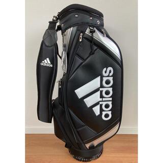 アディダス(adidas)の新品 adidas アディダス キャディーバック XA227 黒銀 軽量(バッグ)