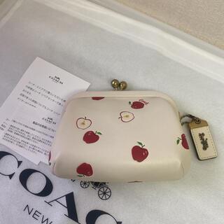 コーチ(COACH)のコーチ りんごがま口 お財布(コインケース)