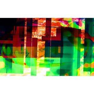 CG抽象画1213 テレワーク スマホ 抽象画(アート/写真)