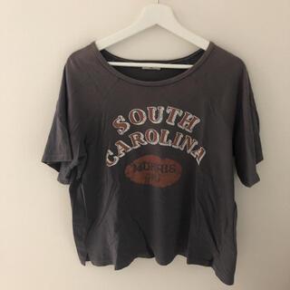 サマンサモスモス(SM2)のサマンサモスモス ロゴTシャツ(Tシャツ(半袖/袖なし))