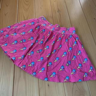 ジェニィ(JENNI)の130 ジェニィアイスクリーム柄スカートパンツスカパン記名無し(スカート)