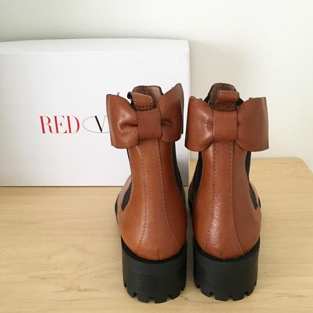 RED VALENTINO(レッドヴァレンティノ)の新品♡レッドヴァレンティノ サイドゴアブーツ★送料込 レディースの靴/シューズ(ブーツ)の商品写真