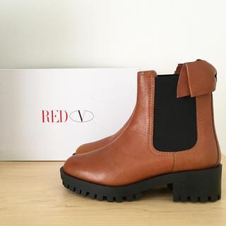 レッドヴァレンティノ(RED VALENTINO)の新品♡レッドヴァレンティノ サイドゴアブーツ★送料込(ブーツ)