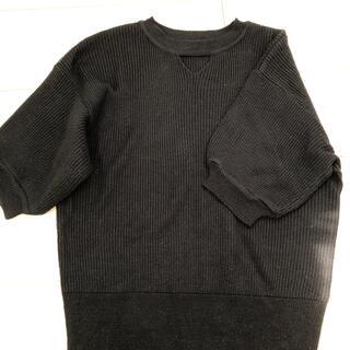 アナップ(ANAP)のANAP ニット半袖 (カットソー(半袖/袖なし))