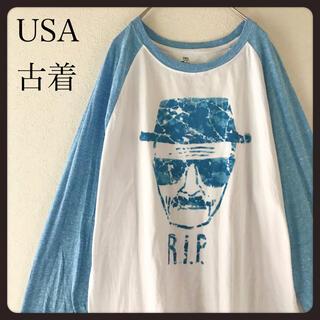 個性派古着 Breaking Bad ブレイキングバッド 七分カットソー袖XL(Tシャツ/カットソー(七分/長袖))