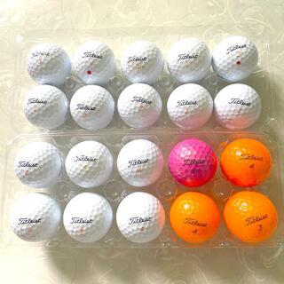 タイトリスト(Titleist)のTitleist ロストボール ゴルフボール 20個(その他)