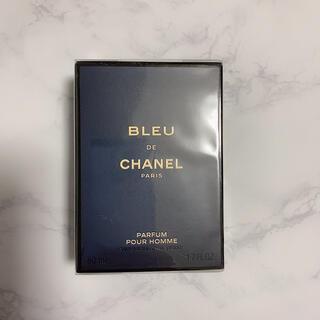 シャネル(CHANEL)のブルー ドゥ シャネル パルファム 50ml 未開封(香水(男性用))