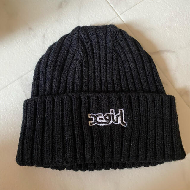 X-girl(エックスガール)のニット帽 X-girl レディースの帽子(ニット帽/ビーニー)の商品写真