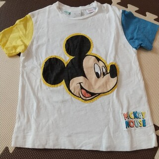 ザラキッズ(ZARA KIDS)の【未使用】ZARAbaby ミッキーTシャツ 98(Tシャツ/カットソー)