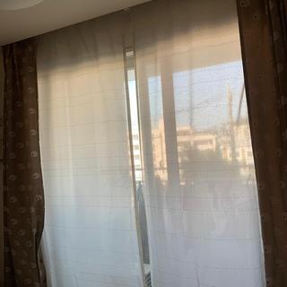 ウニコ(unico)のウニコ 刺繍 カーテン 専用 セット(レースカーテン)