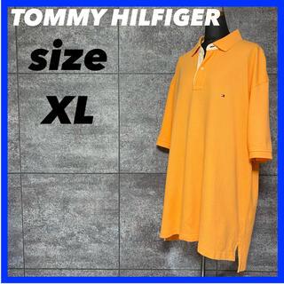 トミーヒルフィガー(TOMMY HILFIGER)のTOMMY HILFIGER トミーヒルフィガー ポロシャツ メンズ サイズXL(ポロシャツ)