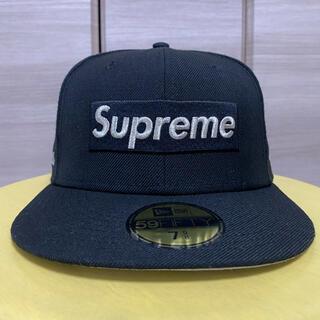 シュプリーム(Supreme)のSupreme × new era $1M Metallic box 7 5/8(キャップ)