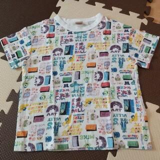 プティマイン(petit main)の【未使用】プティマイン モンスターズインク 総柄Tシャツ 110(Tシャツ/カットソー)