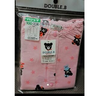 ダブルビー(DOUBLE.B)のミキハウス ダブルビー半袖パジャマ(パジャマ)