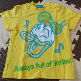ディズニー(Disney)の【未使用】ディズニーランド ドナルドTシャツ 100(Tシャツ/カットソー)