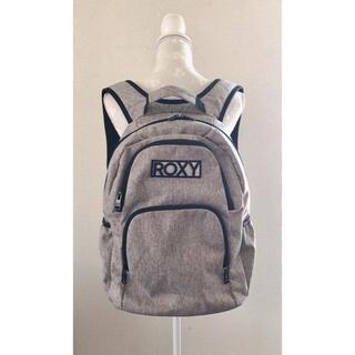 Roxy - ROXY ロキシー  ロゴ バックパック リュック グレー サーフ surf