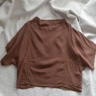ネストローブ(nest Robe)のトラバイユマニュアル パネル ブラウス リネン(シャツ/ブラウス(長袖/七分))