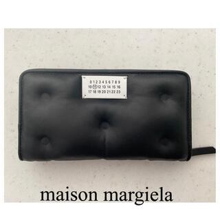マルタンマルジェラ(Maison Martin Margiela)の新品Maison Margielaメゾンマルジェラglam slam長財布 黒(財布)
