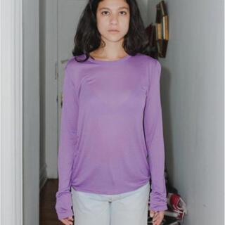 EDIT.FOR LULU - baserange バンブー ロングスリーブ Tシャツ