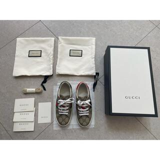 グッチ(Gucci)の送料込♡オンライン限定♡GUCCI♡キッズ靴♡(スニーカー)