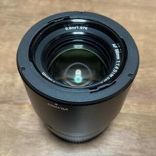 フジフイルム(富士フイルム)のVILTROX 56mm F1.4 Xマウント用(レンズ(単焦点))