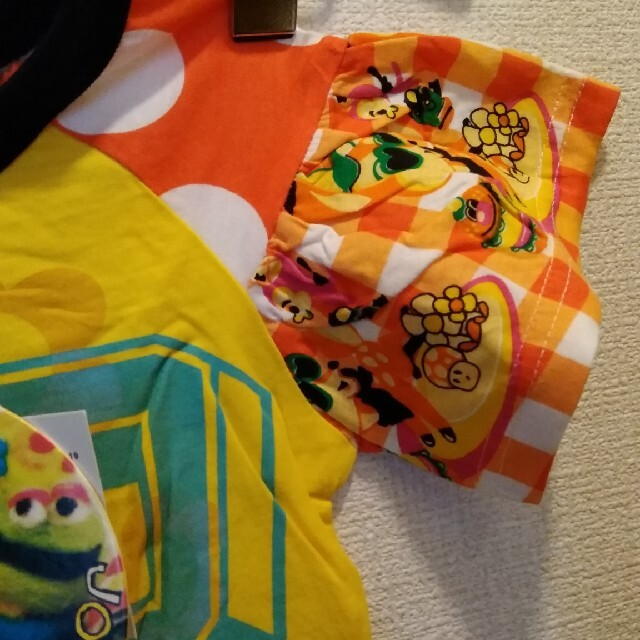 JAM(ジャム)の新品タグ付きJAMジョイフルモンスター👕110 キッズ/ベビー/マタニティのキッズ服女の子用(90cm~)(Tシャツ/カットソー)の商品写真