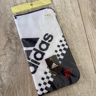 アディダス(adidas)のadidas☆タオルハンカチ(ハンカチ/ポケットチーフ)