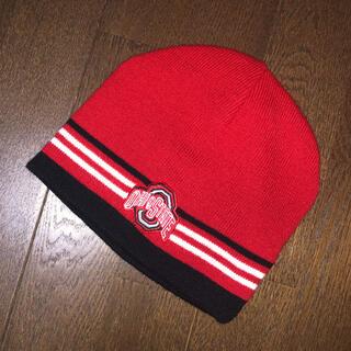 Ohio State University リバーシブル ビーニー ニット帽