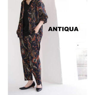 antiqua - 【antiqua】ペイズリー柄 セットアップ